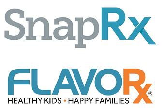 SnapRx FLAVORx logos