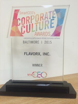 Corporate Culture Award FLAVORx